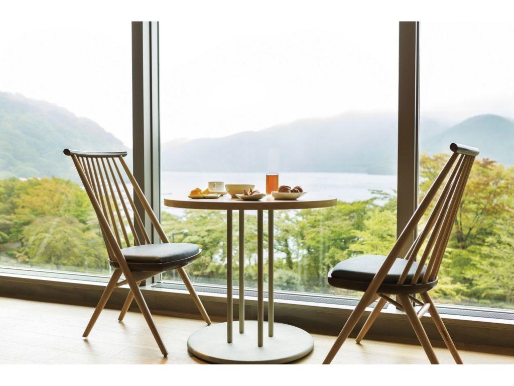 【1泊朝食付】温泉でゆっくり気まま旅~芦ノ湖を見晴らす はなをり朝食